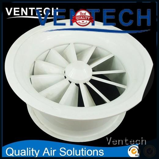 Ventech hvac air diffuser factory direct supply for large public areas