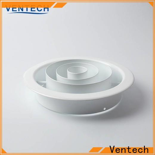 Ventech aluminum air diffuser directly sale for large public areas