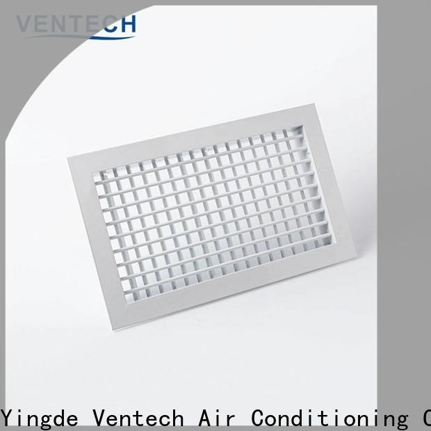 Ventech factory price decorative return air grille best supplier for long corridors