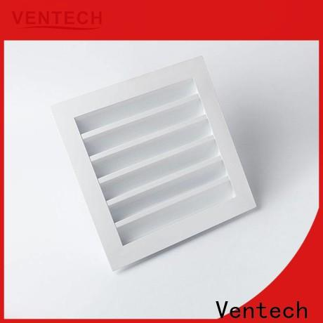 Ventech durable louvered air intake vents best supplier for large public areas