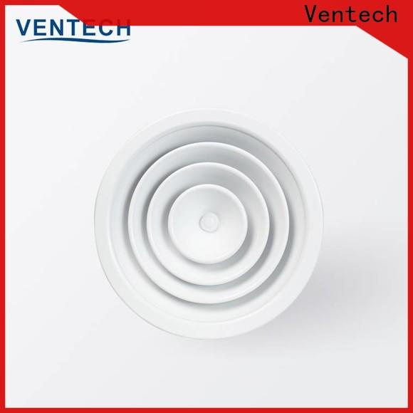 Ventech grilles and diffusers supplier for long corridors