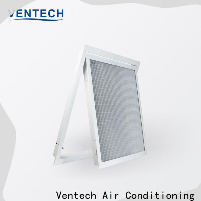 Ventech custom grille air return best supplier for long corridors