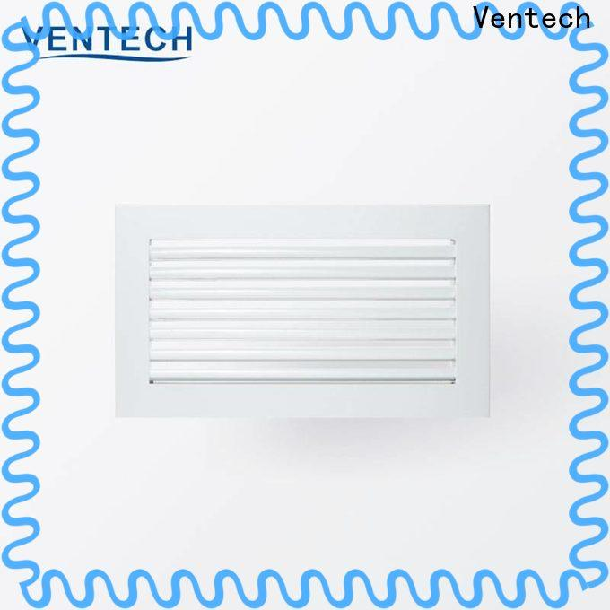 cost-effective linear air grille series for large public areas
