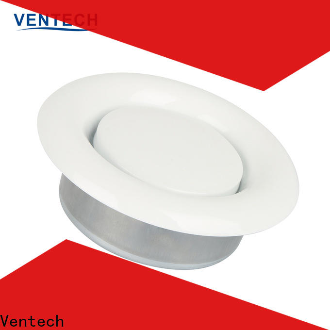 Ventech custom disc valve hvac factory direct supply for large public areas
