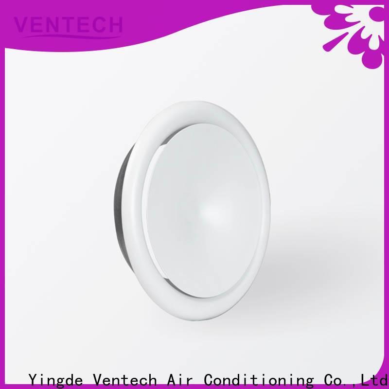 Ventech customized disk valve series for long corridors