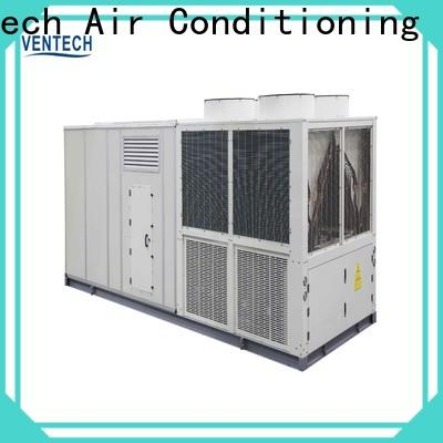 Ventech central heat and air units company for long corridors
