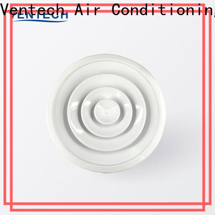 Ventech reliable round air diffusers hvac systems factory direct supply for office budilings