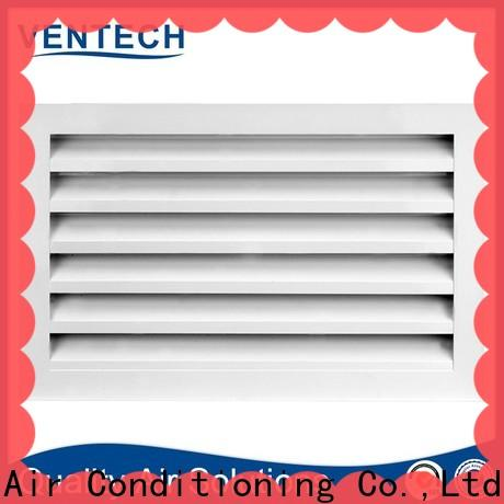 Ventech linear bar grille directly sale for long corridors