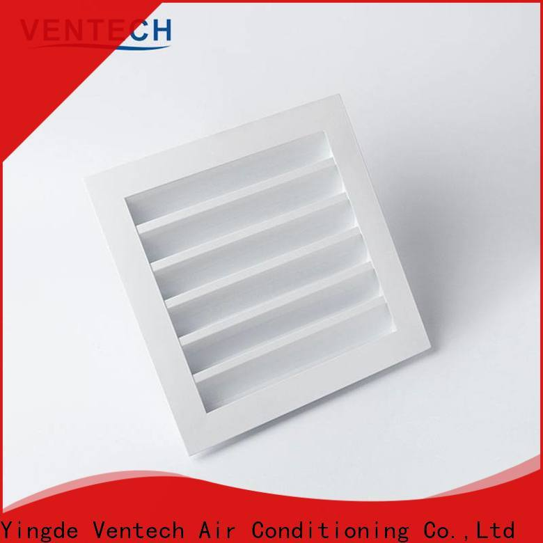 Ventech louvered air intake manufacturer for air conditioning