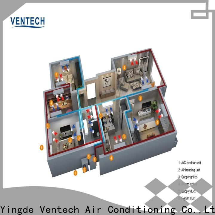 Ventech residential central ac units supplier for large public areas