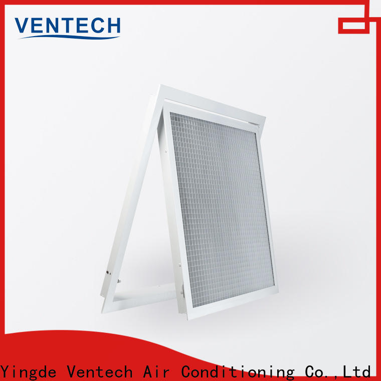 Ventech cheap ceiling grilles ventilation with good price for large public areas