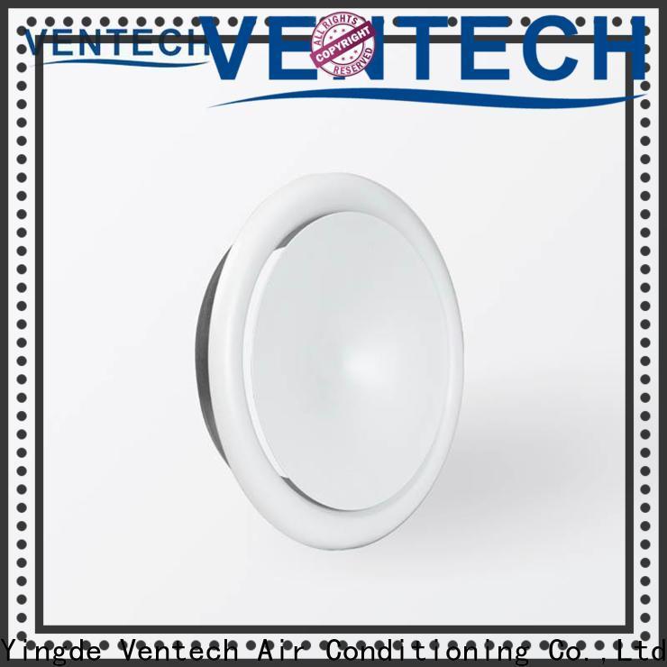 Ventech hot selling disk valve hvac factory direct supply for long corridors