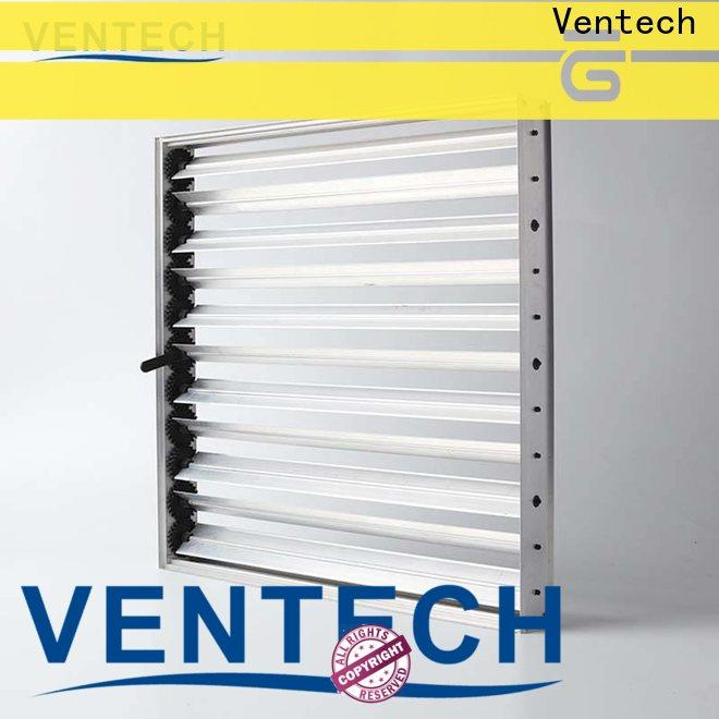 Ventech top quality volume control damper price factory direct supply for long corridors