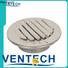 Ventech wall louver vent series for long corridors