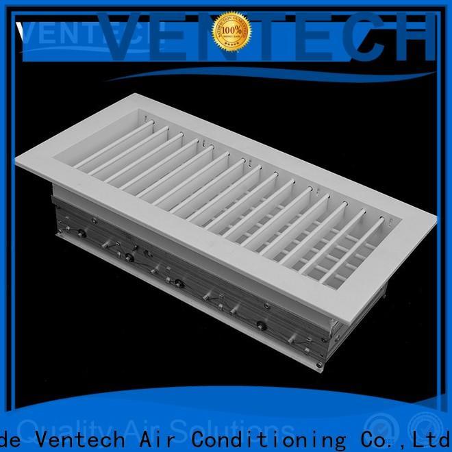 Ventech grille return air supplier for large public areas