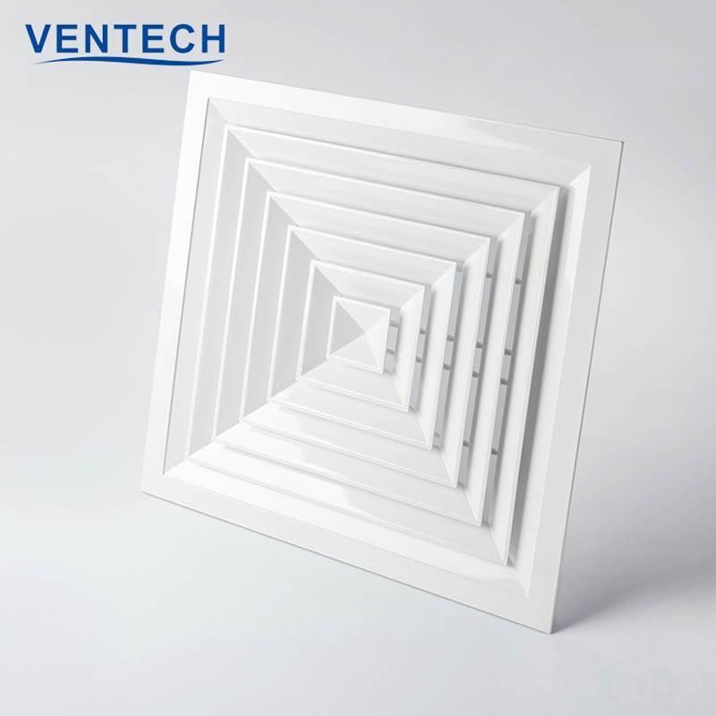 4 Way Square Air Diffuser  Ceiling (SCD-VA)