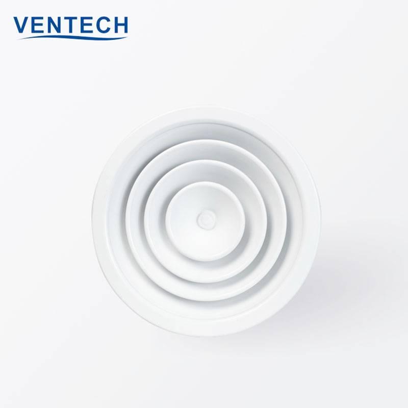 Round Ceiling Diffuser (RCD-VC) Circular Air Diffuser