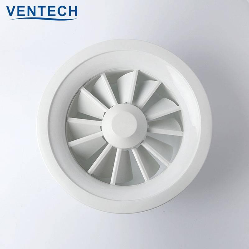 Round Swirl  Air  Diffuser (SD-VC)