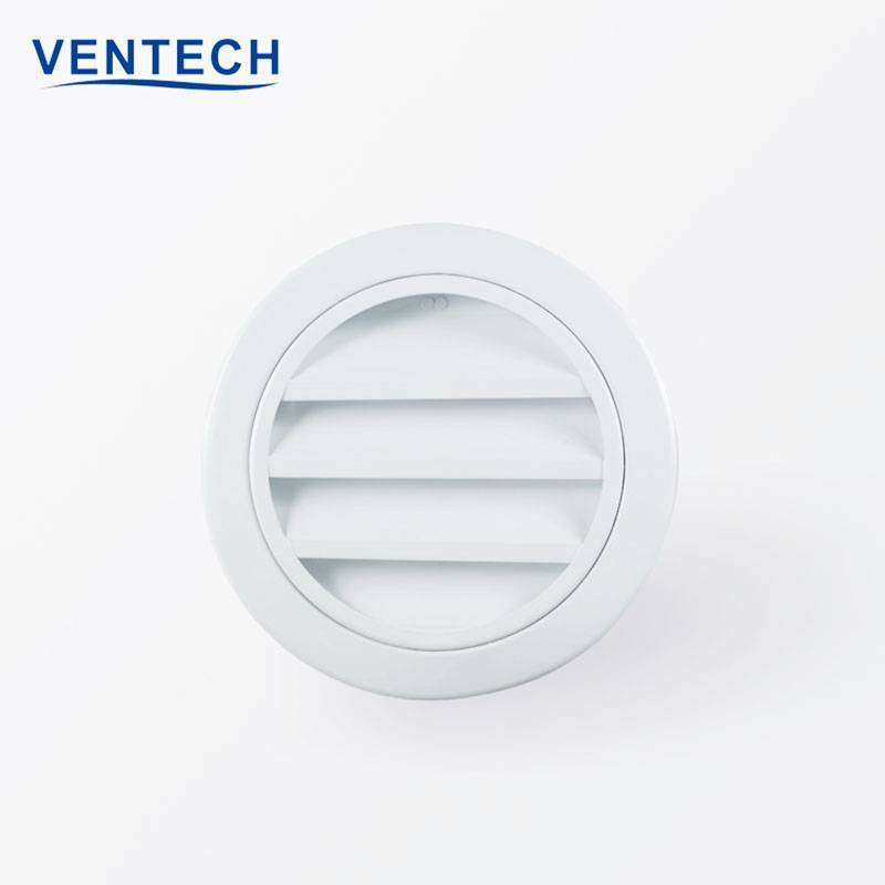 Round Weather Louver (WL-VR)