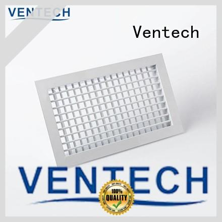 Ventech quality linear bar grille price from China for office budilings