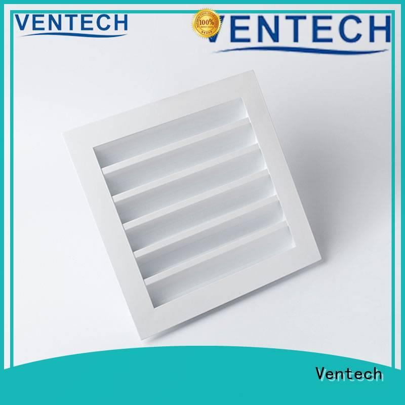 Ventech top aluminum louver factory for long corridors