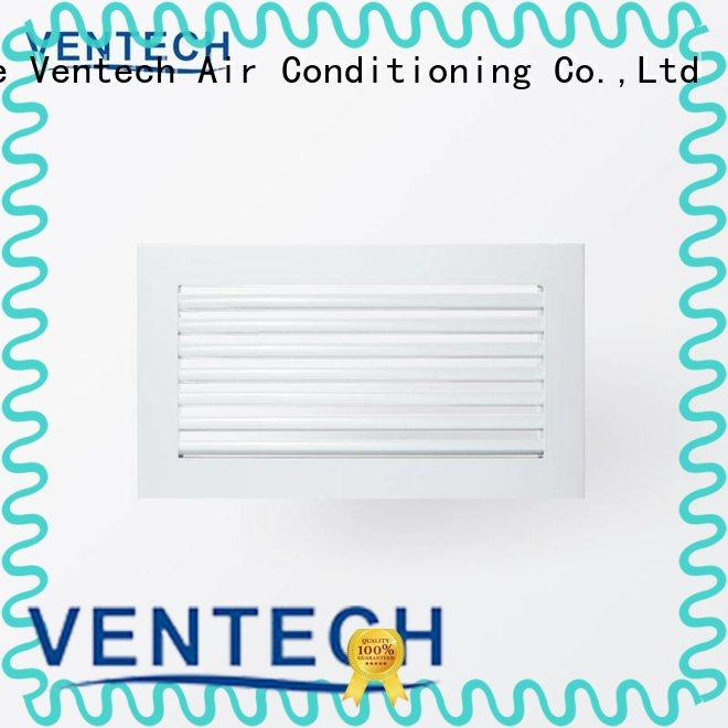 Ventech air conditioner grille supply for long corridors