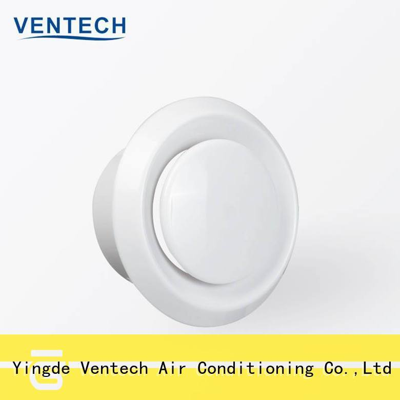 Ventech disk valve best supplier for large public areas