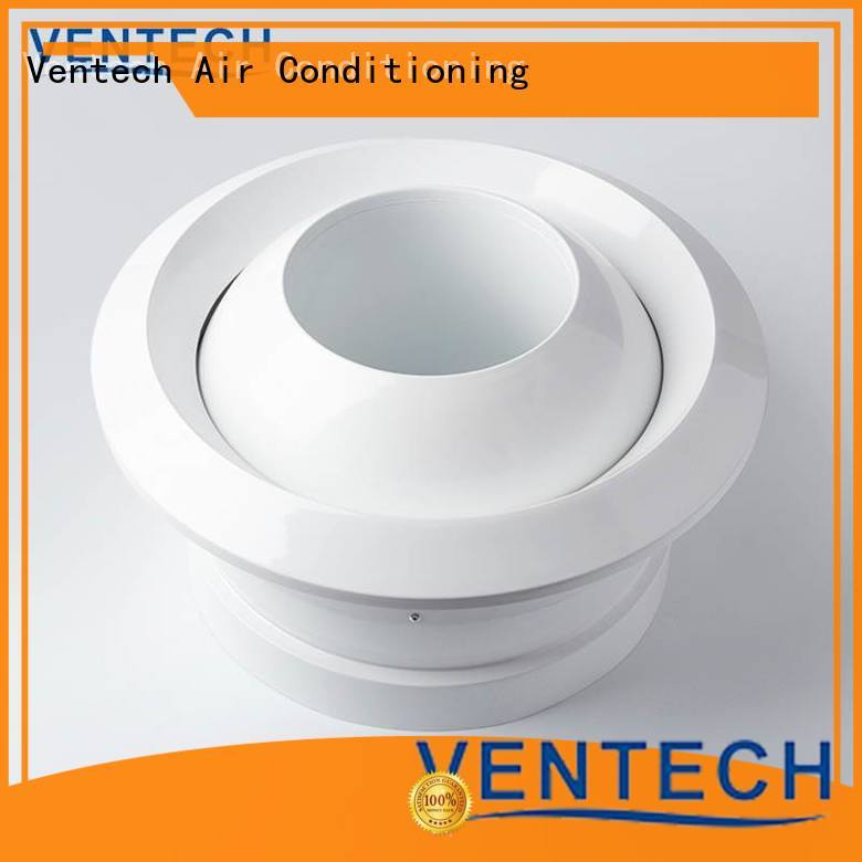 Ventech air diffuser hvac factory for large public areas