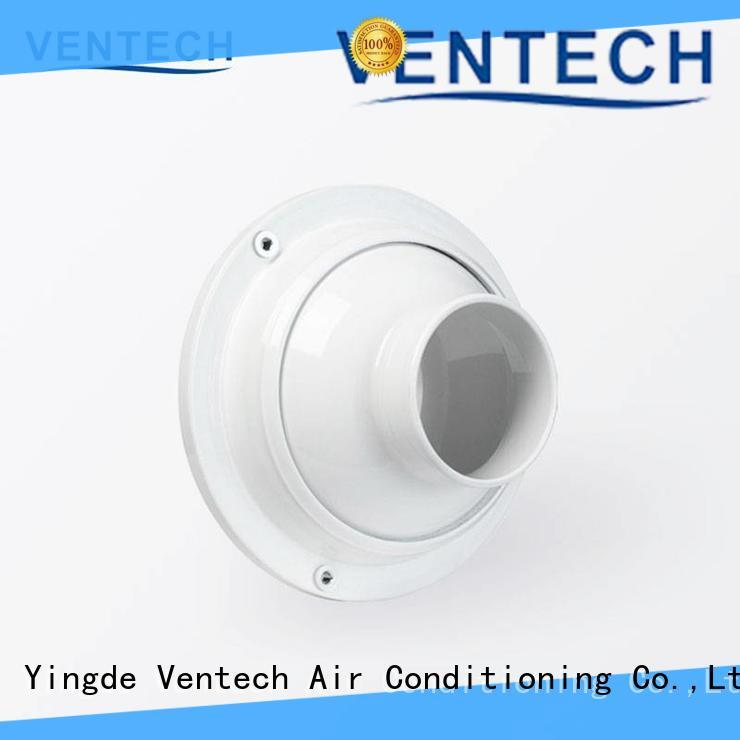 Ventech best price square air diffuser best supplier for long corridors