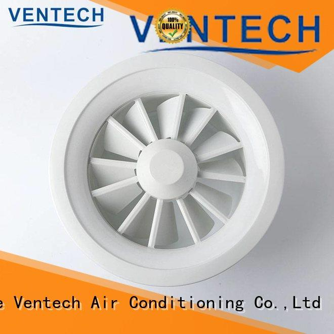 Ventech cost-effective air conditioning grilles and diffusers factory direct supply for long corridors