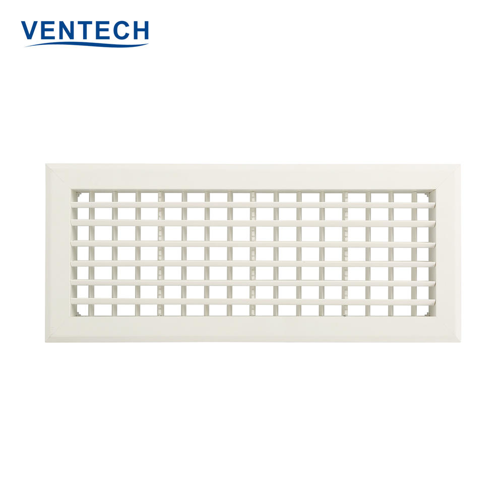 Plastic Double Deflection Grille Supply Air Grille