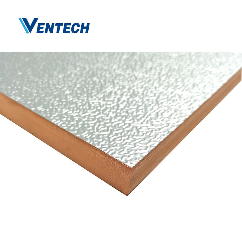 Hvac pre-insulated phenolic air duct panel 20mm for HVAC system