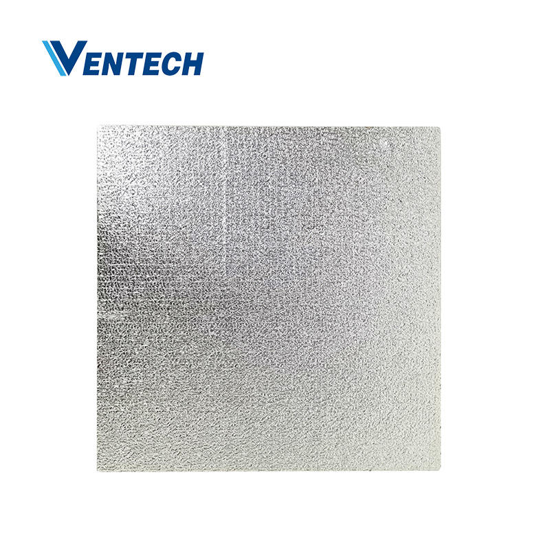 Phenolic foam pre-insulated duct panel 20mm UL 181 for HVAC system