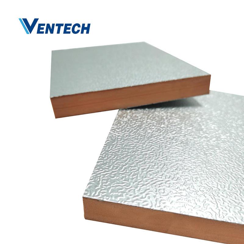 Alu foil phenolic pre-insulated duct panel
