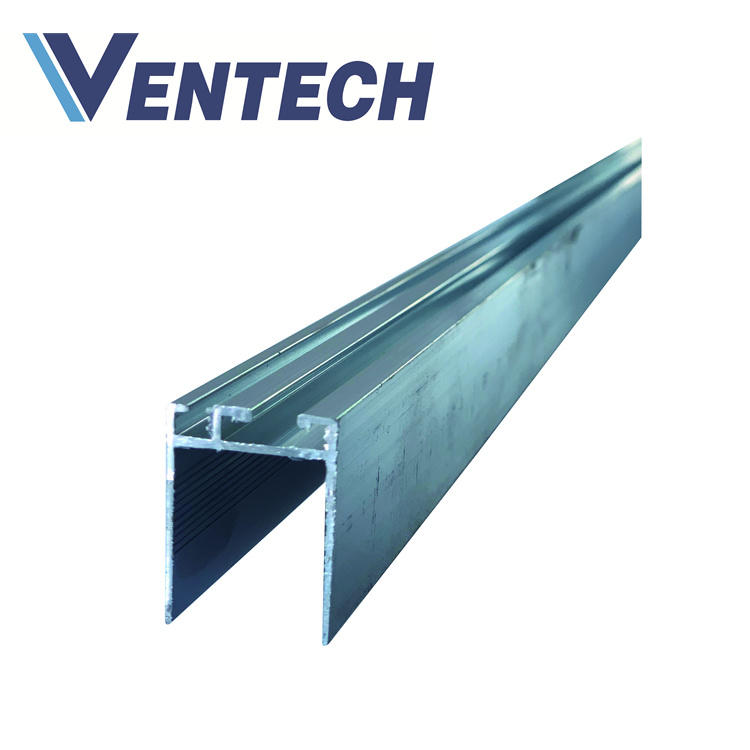 Aluminum Invisible Flange Joint for HVAC air duct system