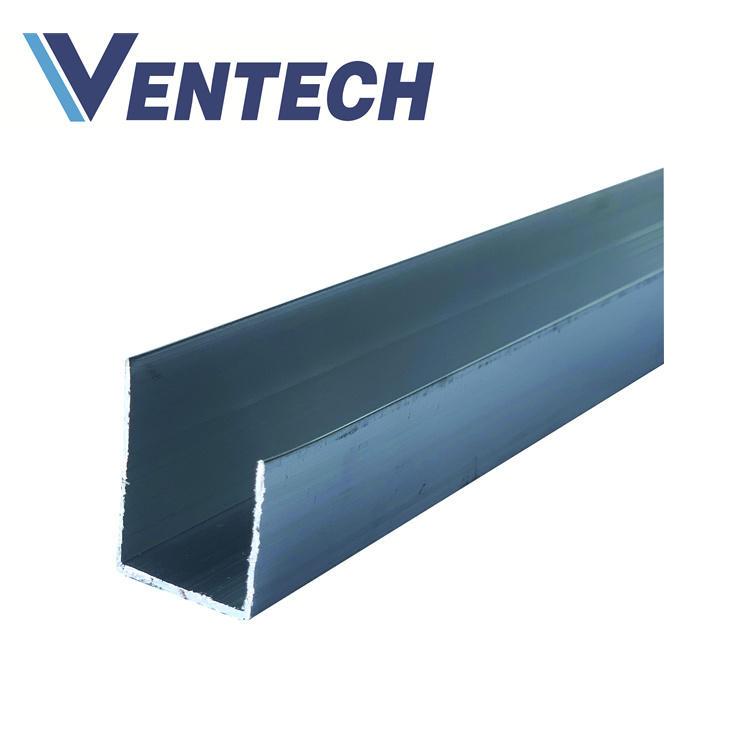 Aluminum U Flange for HVAC air duct system