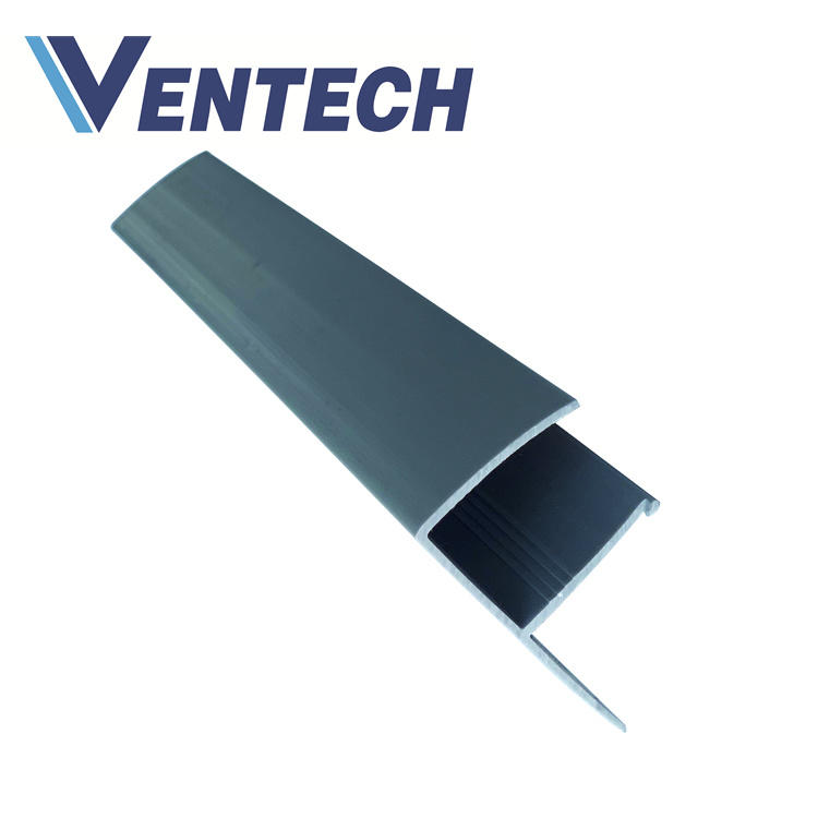PVC F Section Bar for HVAC air ducting system