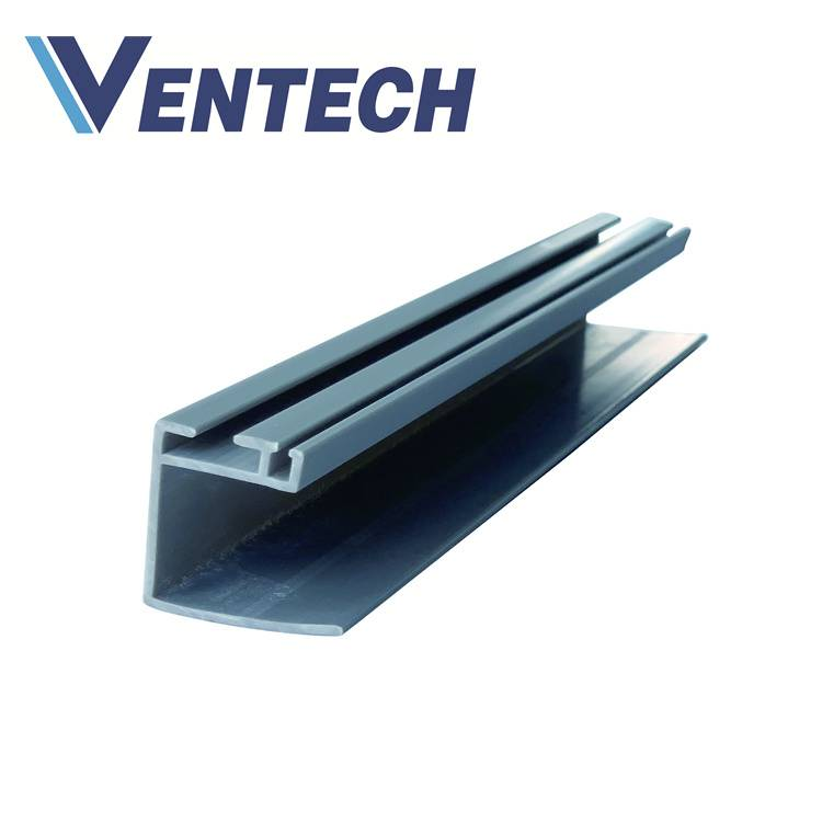 PVC Tee Connector Flange Joint for Phenolic air duct hvac system