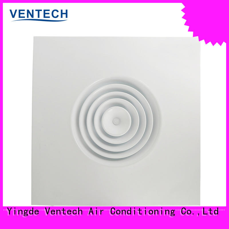 Ventech reliable ceiling air diffuser company for large public areas