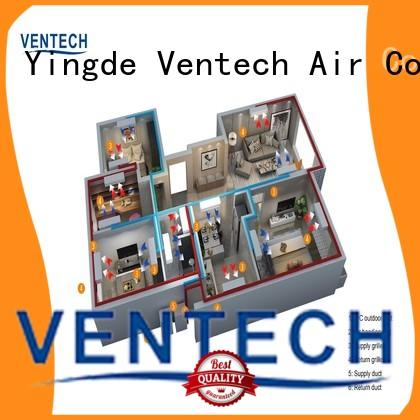 Ventech best air conditioning units best supplier for long corridors